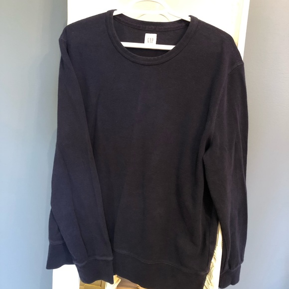 2/$30 Gap 90s style ribbed sweater navy